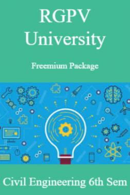 RGPV Freemium Package Civil Engineering VII SEM