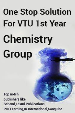 One Stop Solution For VTU 1st Year Chemistry Group