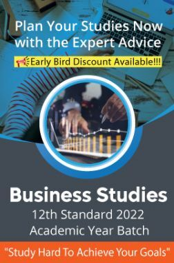 12th CBSE and ISC Syllabus Business Studies 2022 Academic Year Batch