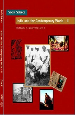 NCERT India and the Contemporary World-II Textbook for Class X