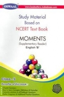 NCERT  Moments Supplementary Reader Textbook for Class IX