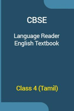 CBSE Language Reader English Textbook For Class 4 (Tamil)