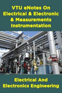 VTU eNotes On Electrical & Electronic Measurements & Instrumentation (Electrical And Electronics Engineering)