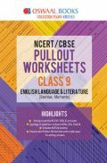 Oswaal NCERT & CBSE Pullout Worksheets Class - IX English Language And Literature For 2019 Exam