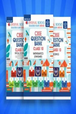 Oswaal CBSE Question Bank Class 10 (Set of 3 Books) Science, Social Science & Mathematics Standard (For 2021 Exam)