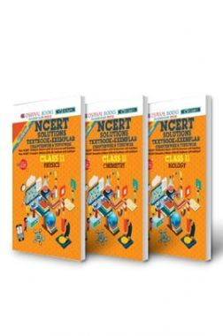 Oswaal NCERT Problems Solutions Textbook-Exemplar Class 11 (3 Book Sets) Physics, Chemistry, Biology (For Exam 2021)