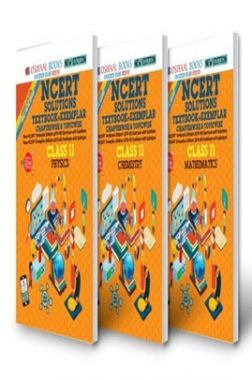 Oswaal NCERT Problems Solutions Textbook-Exemplar Class 11 (3 Book Sets) Physics, Chemistry, Mathematics (For Exam 2021)