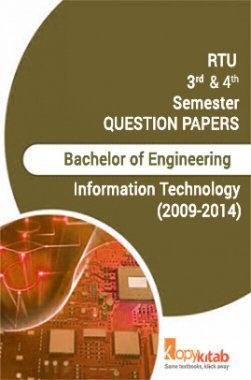 RTU QUESTION PAPERS 2ND YEAR INFORMATION TECHNOLOGY (2009-14)