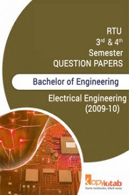 RTU  QUESTION PAPERS 2ND YEAR ELECTRICAL ENGINEERING (2009-10)