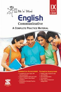 Me N Mine English Communicative First Term For Class-IX CBSE