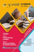 Shuchita Prakashan Solved Scanner CA Foundation (New Syllabus) Volume-I For May 2019 Exam