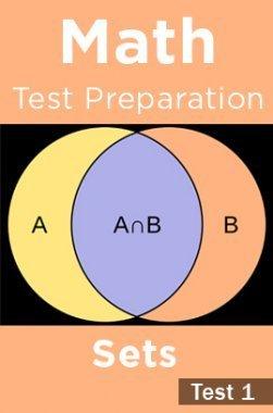 Math Test Preparation Problems on Sets Part 1