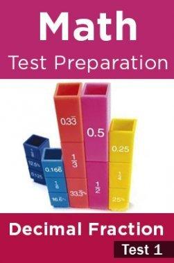 Math Test Preparation Problems on Decimal Fraction Part 1