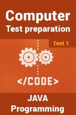 Computer Science Engineering Test Preparations On Java Programming Part 1