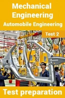 Mechanical Engineering Test Preparations On Automobile Engineering Part 2