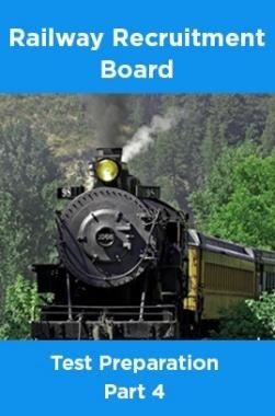 Railway Recruitment Board Test Preparation Part 4
