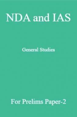 NDA and IAS General Studies For Prelims Paper-2