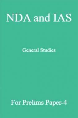 NDA and IAS General Studies For Prelims Paper-4