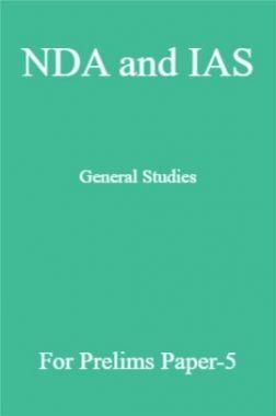 NDA and IAS General Studies For Prelims Paper-5