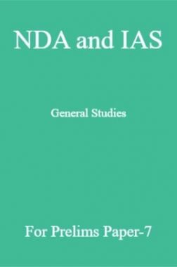 NDA and IAS General Studies For Prelims Paper-7