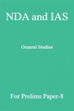 NDA and IAS General Studies For Prelims Paper-8