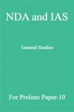 NDA and IAS General Studies For Prelims Paper-10