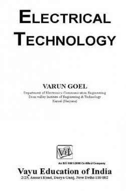 Electrical Technology By Varun Goel