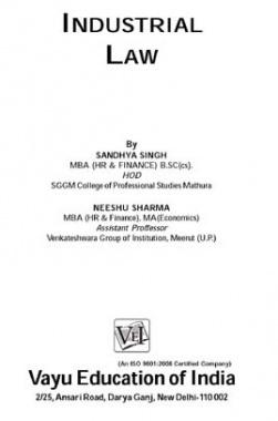 Industrial Law By Sandhya Singh, Neeshu Sharma