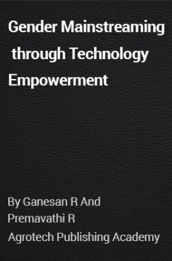 Gender Mainstreaming through Technology Empowerment
