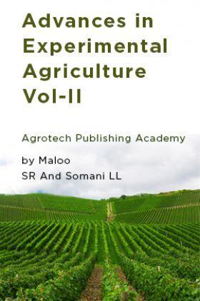 Advances in Experimental Agriculture Vol-II
