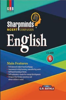 Sharpminds NCERT Companion English For Class-6