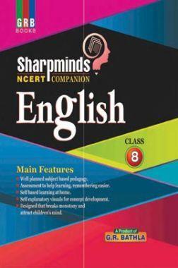 Sharpminds NCERT Companion English For Class-8