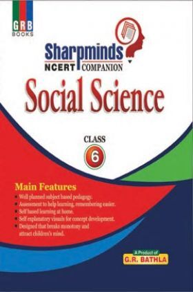 Sharpminds NCERT Companion Social Science For Class-6