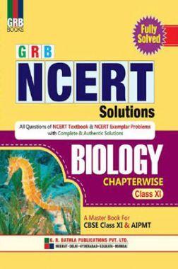 NCERT Solutions Biology For Class - XI