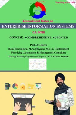 Amendments Notes On Enterprise Information Systems