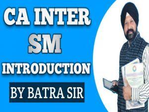 CA INTER SM Introduction