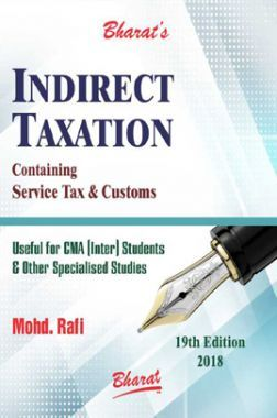 Indirect Taxation Containing GST & Customs