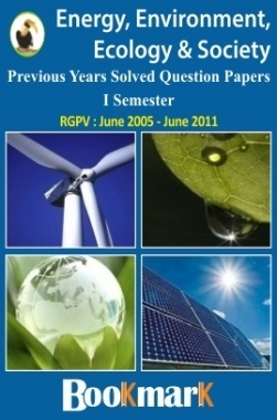 BookMark - Energy Ecology Environment and Society - RGPV - Previous Year Solved Question Papers