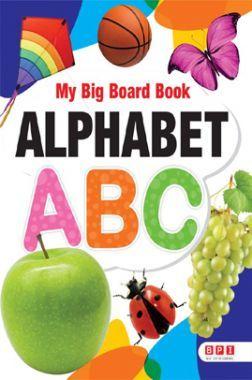 My Big Board Book Alphabet ABC