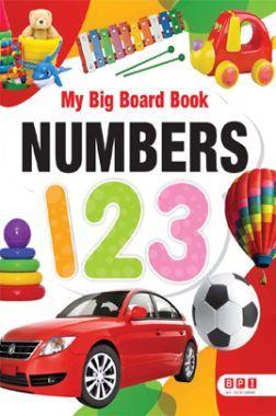 My Big Board Book Numbers 123