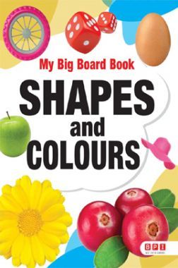My Big Board Book Shapes And Colour
