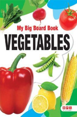 My Big Board Book Vegetables