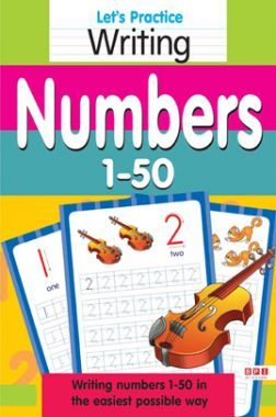Let's Practice Writing Numbers 1-50