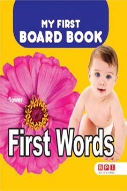 My First Board Book First Words