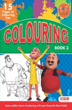 Motu Patlu Colouring Book - 3