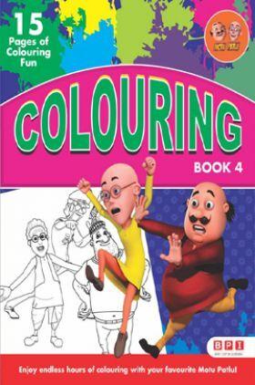 Motu Patlu Colouring Book - 4