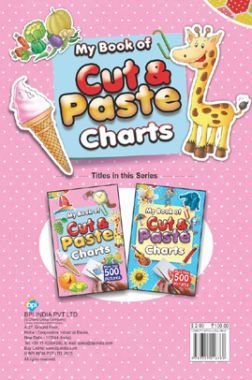 My Book Of Cut & Paste Charts (Pink)