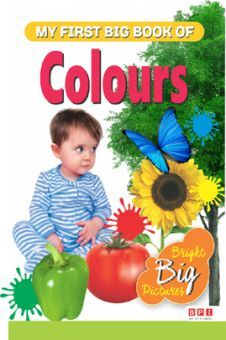 My First Big Book Of Colours