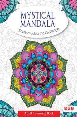 Mystical Mandala Endless Colouring Challenge