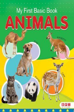 My First Basic Book Animals